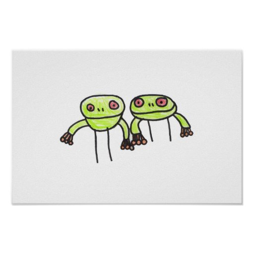 frogs posters