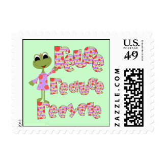 Frogs Reduce Reuse Recycle Tshirts and Gifts Stamp