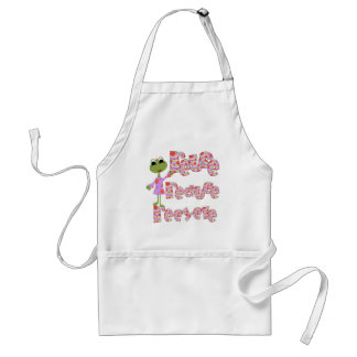 Frogs Reuse Reduce Recycle Apron