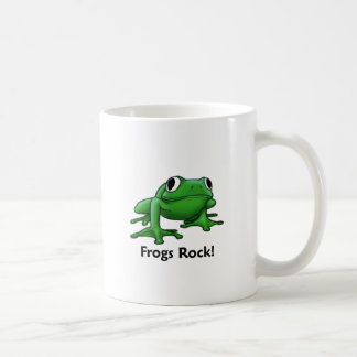 Frogs Rock! Coffee Mug