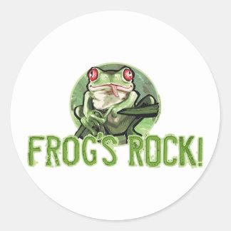 Frog's Rock! Tree Frog Sticker
