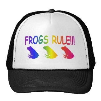 Frogs Rule Trucker Hat