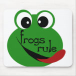 Frogs Rule  Mouse Pad