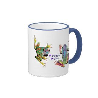 Frogs Rule Mugs