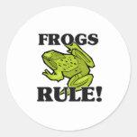 FROGS Rule! Stickers