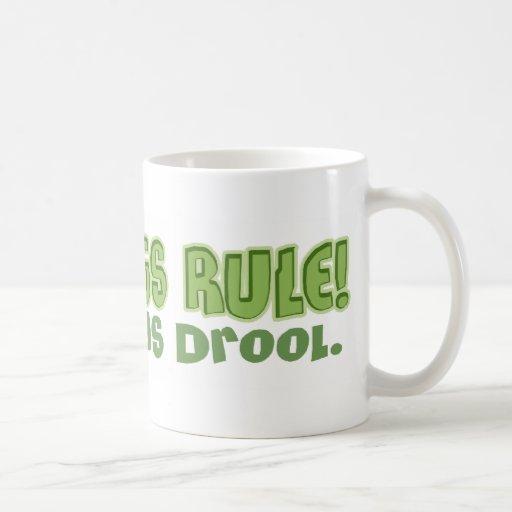 Frogs Rule, Toads Drool Mug