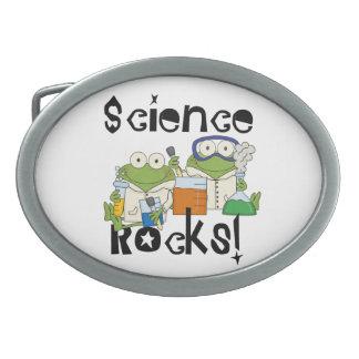 Frogs Science Rocks Belt Buckle