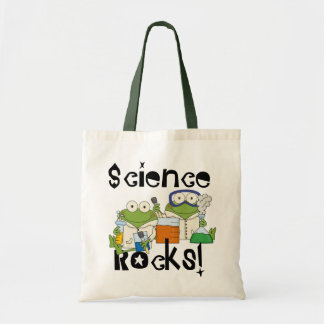 Frogs Science Rocks Budget Tote Bag