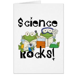 Frogs Science Rocks Card