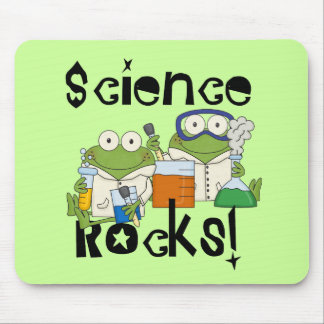 Frogs Science Rocks Mouse Pad