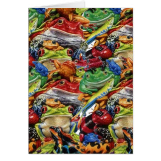Frogs Stationery Note Card