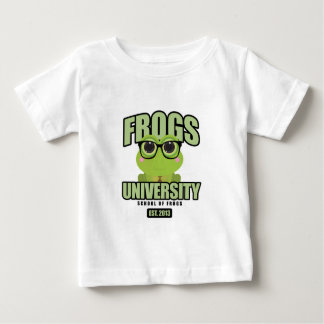 Frogs University Infant T-shirt