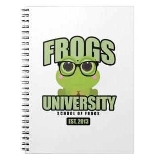 Frogs University Notebook