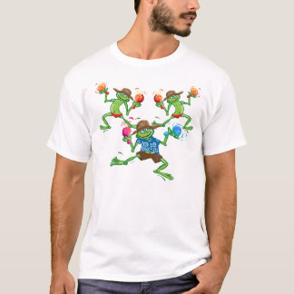 Frogs with maraccas T-Shirt