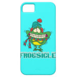 frogsicle funny frozen shivering frog iPhone 5 covers
