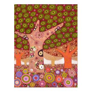 Frogspawn trees 2010 postcard