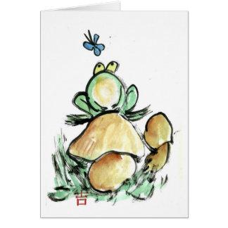 Frogstool Card