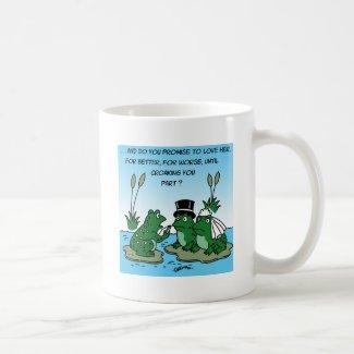 frogsWedding Coffee Mug