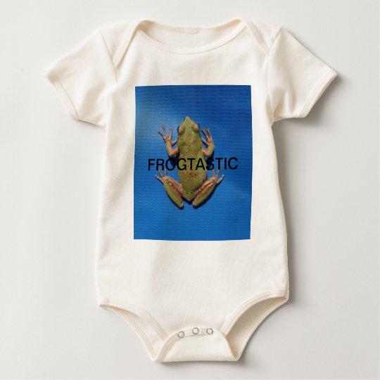Frogtastic Baby Bodysuit