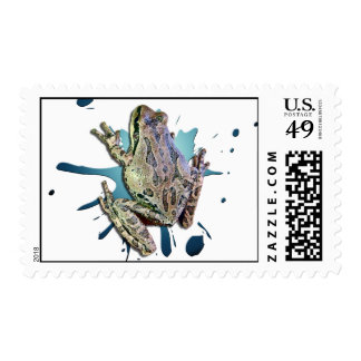 FROGY POSTAGE STAMPS