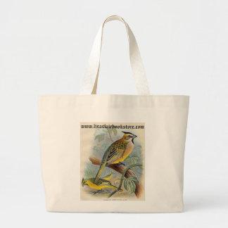 Frohawk - Green Cardinal Jumbo Tote Bag