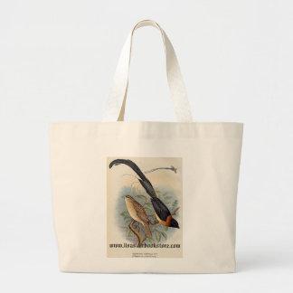 Frohawk - Paradise Whydah Jumbo Tote Bag
