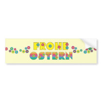 Frohe Ostern Bumper Sticker