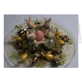 Frohe Ostern Card