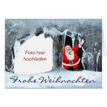 Frohe Weihnachten Eiszapfen Grußkarten