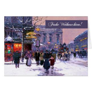 Frohe Weihnachten. German Christmas Cards