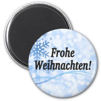 Frohe Weihnachten! Merry Christmas in German bf Magnet