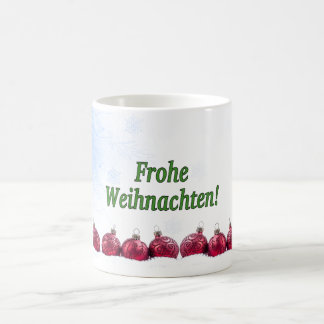 Frohe Weihnachten! Merry Christmas in German gf Coffee Mug