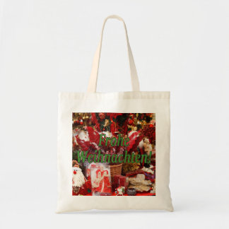 Frohe Weihnachten! Merry Christmas in German gf Tote Bag