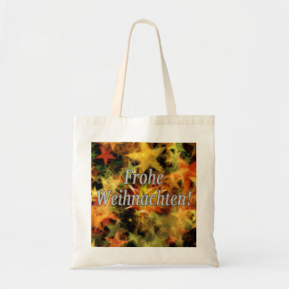Frohe Weihnachten! Merry Christmas in German wf Tote Bag