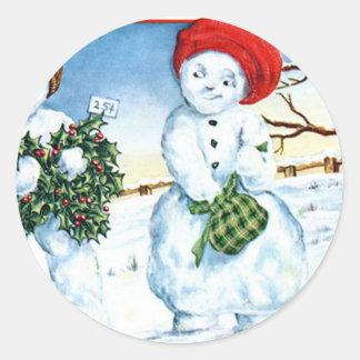Frohe Weihnachten - Merry Christmas Sticker