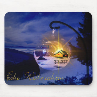 Frohe Weihnachten Mouse Pad