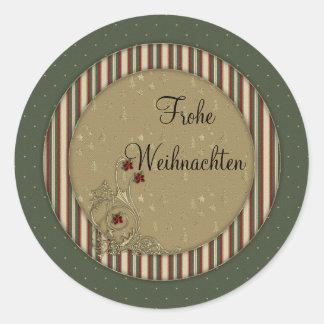 Frohe Weihnachten Sticker