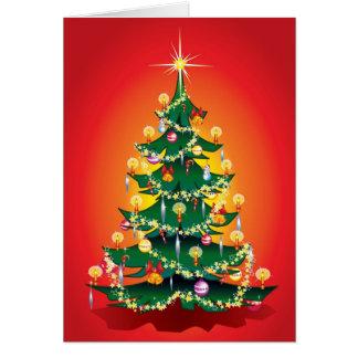 ¡Frohe Weihnachten! Tarjeta De Felicitación