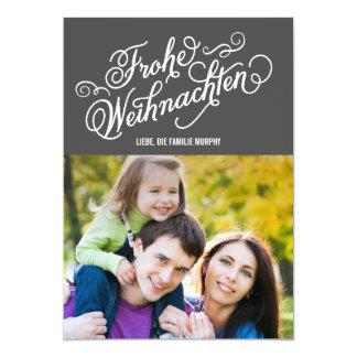 FROHE WEIHNACHTEN Weihnachtskarten Invitaciones Personales