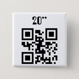 Frohes neues Jahr - German Pinback Button