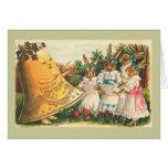 Fröhliche Ostern Vintage Easter Bunnies Card