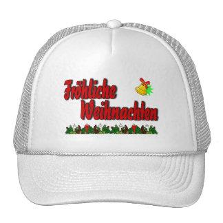Fröhliche Weihnachten Trucker Hat