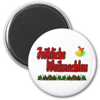 Fröhliche Weihnachten Imán Redondo 5 Cm