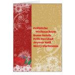 Fröhliche Weihnachten Karten