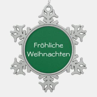 Fröhliche Weihnachten   - ornamento Adorno