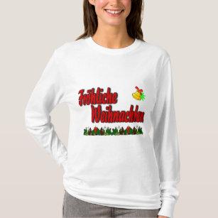 T Shirt Weihnachten.Frohe Weihnachten Clothing Zazzle