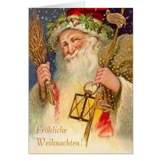 ¡Fröhliche Weihnachten! Tarjeta De Felicitación