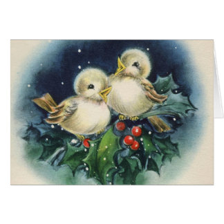 Fröhliche Weihnachten! Vintage Card