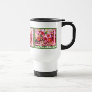 Frolic in Daisies Travel Mug