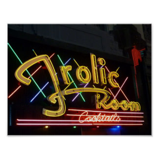 Frolic Room Cocktail Lounge Neon Sign